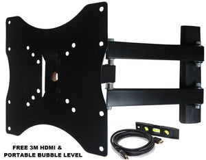 15-37 Plasma LED LCD Screen TV Mount with 180 Degree Swivel""
