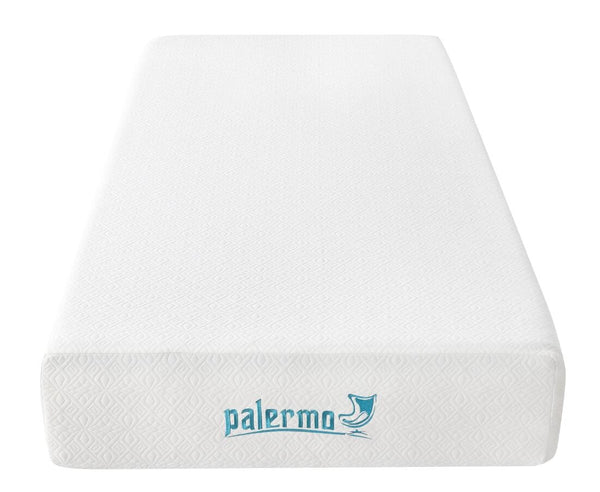 Palermo Single 25cm Gel Memory Foam Mattress - Dual-Layered - CertiPUR-US Certified