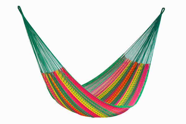 King Size Outdoor Cotton Hammock in Radiante