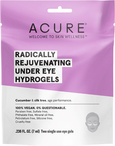 Acure Radically Rejuvenating Under Eye Hydrogel Mask (7ml) - Body&Abode