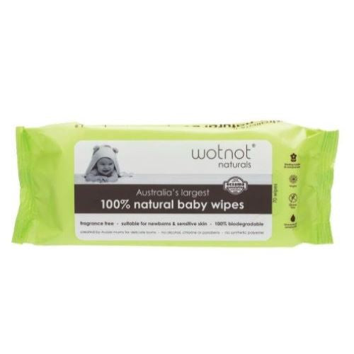 Wotnot Baby Wipes (70 pack) - Body&Abode