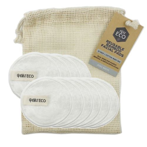 Ever Eco Reusable Bamboo Facial Pads - Body&Abode