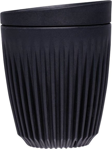 Huskee Reusable Coffee Cup Charcoal (237ml) - Body&Abode