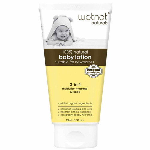 Wotnot Baby Lotion (135ml) - Body&Abode