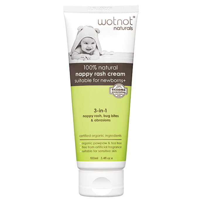 Wotnot Nappy Rash Cream (100ml) - Body&Abode
