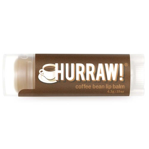 Hurraw! Lip Balm - Coffee Bean - Body&Abode