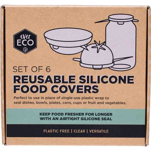 Ever Eco Reusable Silicone Food Covers - Body&Abode