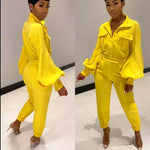 DAISY YELLOW JUMPSUIT