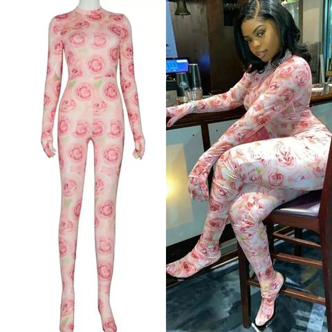 FULL PINKY JUMPSUIT
