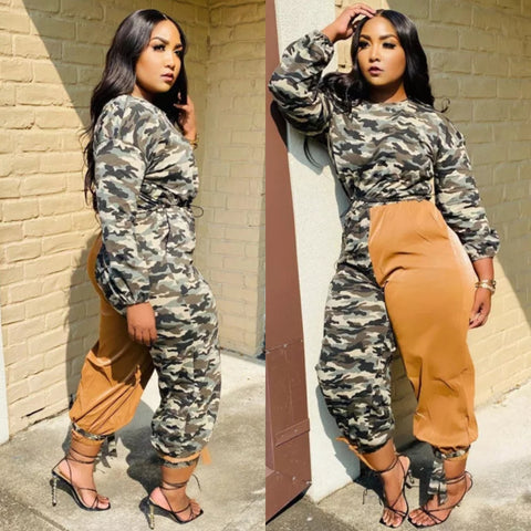 SANDY CAMO JUMPSUIT