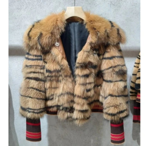 NEW LUXURY FEMALE WINTER COAT