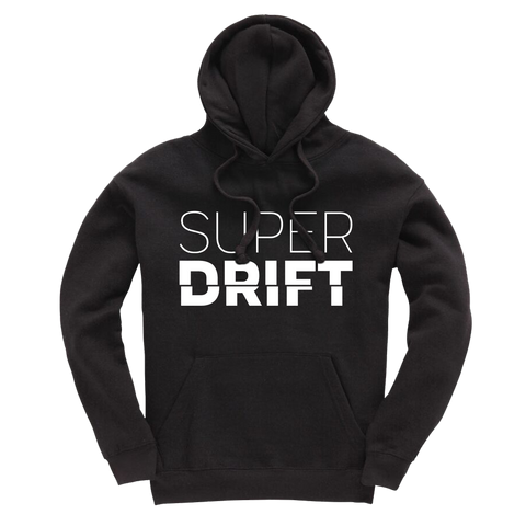 SuperDrift Statement Hoodie - Black