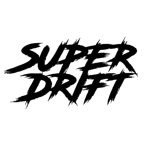 SuperDrift Trash Sticker