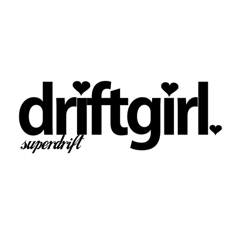 DRIFTgirl Sticker
