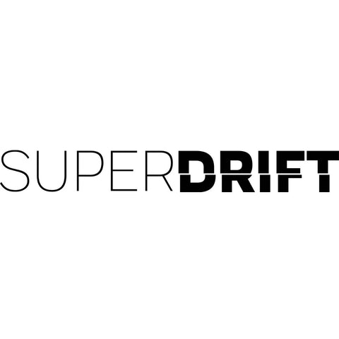 SuperDrift Official Sticker x 2