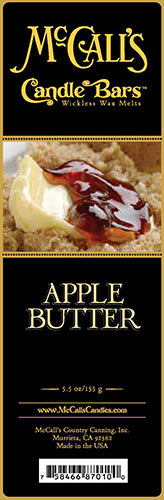 APPLE BUTTER Candle Bars-5.5 oz Pack