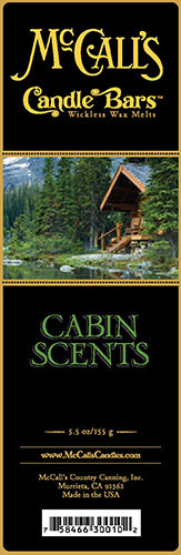 CABIN SCENTS Candle Bars-5.5 oz Pack