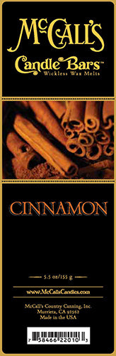 CINNAMON Candle Bars-5.5 oz Pack