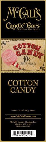 COTTON CANDY Candle Bars-5.5 oz Pack