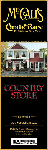 COUNTRY STORE Candle Bars-5.5 oz Pack