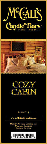 COZY CABIN Candle Bars-5.5 oz Pack