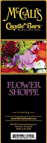 FLOWER SHOPPE Candle Bars-5.5 oz Pack