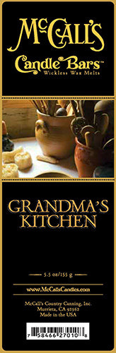 GRANDMA'S KITCHEN Candle Bars-5.5 oz Pack