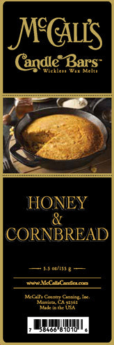 HONEY and CORNBREAD Candle Bars-5.5 oz Pack