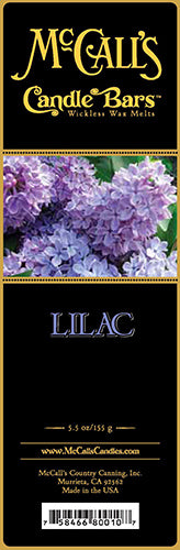 LILAC Candle Bars-5.5 oz Pack