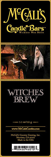 WITCHES BREW Candle Bars-5.5 oz Pack