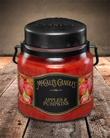 APPLES and PUMPKINS Double Wick Classic 16oz