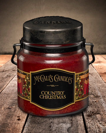 COUNTRY CHRISTMAS Double Wick Classic 16oz