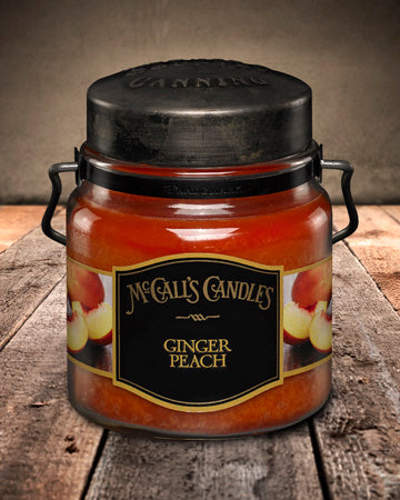 GINGER PEACH Double Wick Classic 16oz