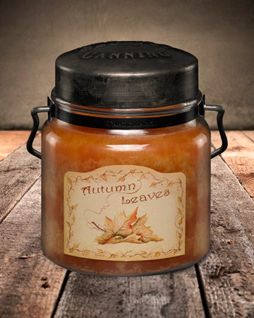 AUTUMN LEAVES Classic Jar Candle-16oz