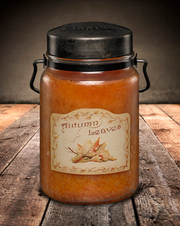 AUTUMN LEAVES Classic Jar Candle-26oz