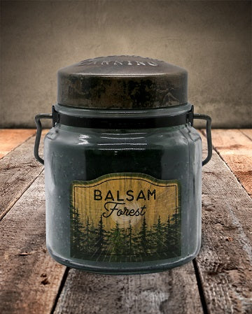 BALSAM FOREST Classic Jar Candle-16oz