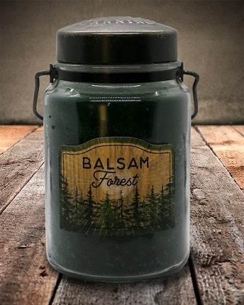 BALSAM FOREST Classic Jar Candle-26oz