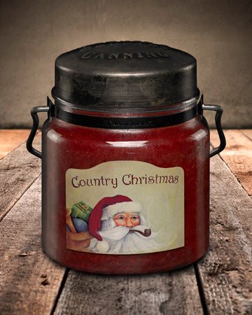 COUNTRY CHRISTMAS Classic Jar Candle-16oz