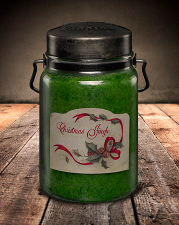 CHRISTMAS JINGLE Classic Jar Candle-26oz