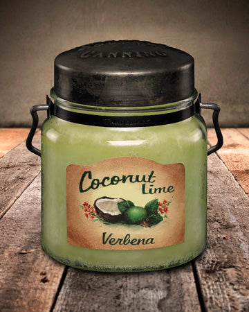 COCONUT LIME VERBENA Classic Jar Candle-16oz