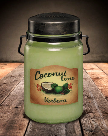 COCONUT LIME VERBENA Classic Jar Candle-26oz