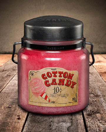COTTON CANDY Classic Jar Candle-16oz