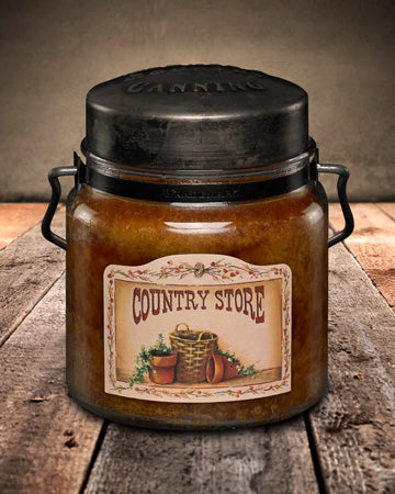 COUNTRY STORE Classic Jar Candle-16oz