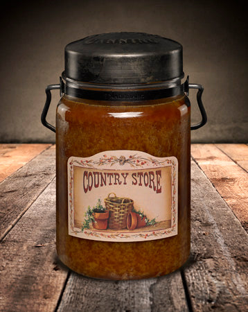 COUNTRY STORE Classic Jar Candle-26oz