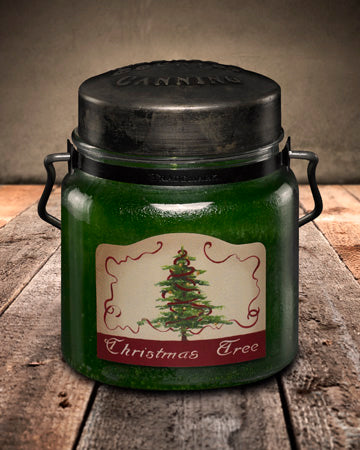 CHRISTMAS TREE Classic Jar Candle-16oz