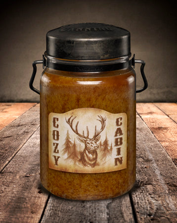 COZY CABIN Classic Jar Candle-26oz