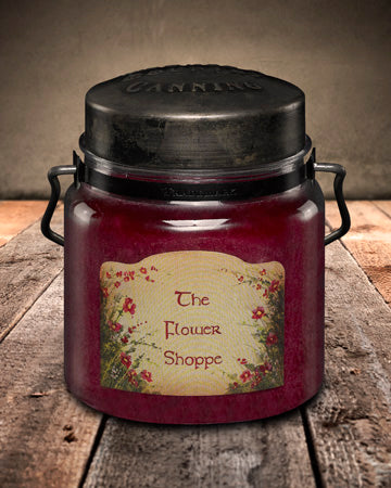 FLOWER SHOPPE Classic Jar Candle-16oz