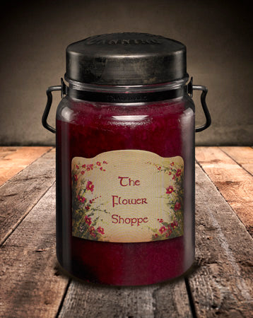 FLOWER SHOPPE Classic Jar Candle-26oz