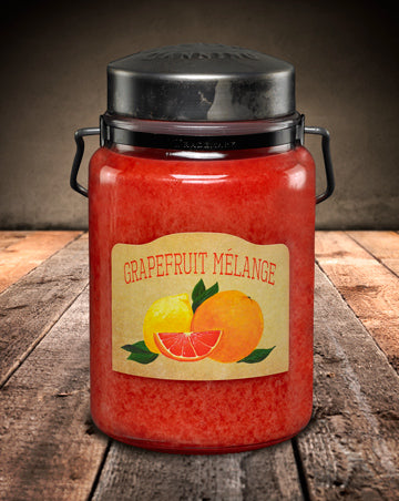 GRAPEFRUIT MÉLANGE Classic Jar Candle-26oz