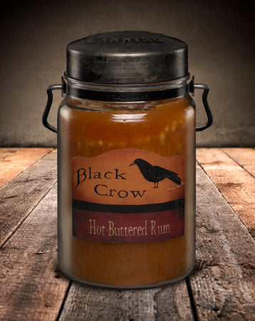 HOT BUTTERED RUM Classic Jar Candle-26oz